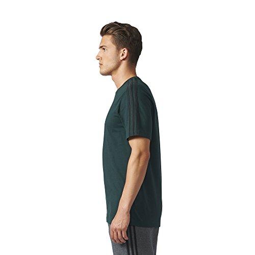 adidas Herren Essentials 3-Stripes T-Shirt, Blau GRNNIT