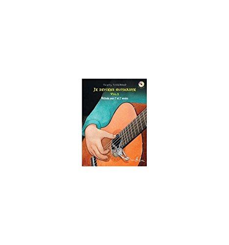 Méthode + CD TISSERAND Thierry Je deviens guitariste Vol.2 - guitare