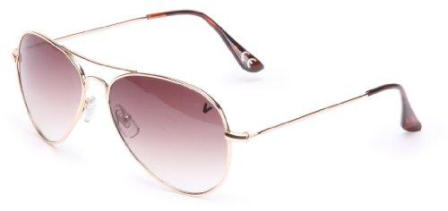 Vans Damen Other G Hangar Sunglasses, Gold, One size, VN2MGLD