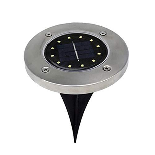 Sioneit Amiubo Gehweg der Solar Power LED beleuchtet Weg Garten Untertage Licht Terrassen-Beleuchtung