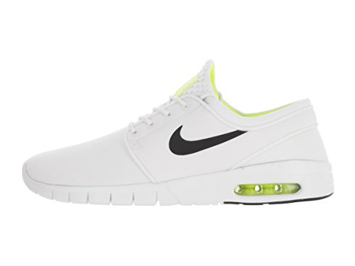Nike Herren Stefan Janoski Max Low-Top Weiß (White/Black-Volt-White)