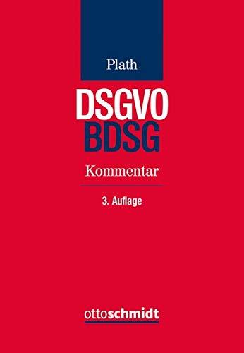 BDSG/DSGVO: Kommentar zu DSGVO, BDSG und den Datenschutzbestimmungen von TMG und TKG - Partnerlink