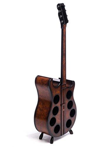 Weinregal 133cm Gitarre Weinständer Flaschenregal Flaschenständer Wein Regal