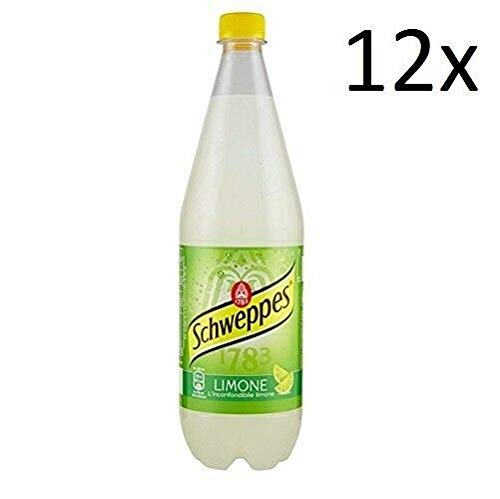 12x Schweppes Bitter Lemon Zitrone Lemonade PET 1 Lt erfrischend