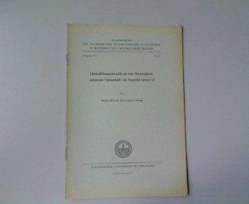 Chemolithoautotrophie als übertragbare, autonomie Eigenschaft von Nocardia opaca 1 b, in: Nachrichten der Akademie der Wissenschaften in Göttingen II. Mathematisch-Physikalische Klasse. Jahrgang 1975, Nr. 12.