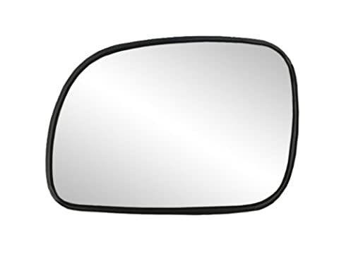 Fit System 33013 Chrysler/Dodge/Plymouth Left Side Heated Power Replacement Mirror Glass with Backing Plate by Fit System