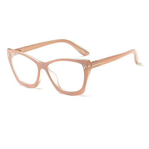 Anti-Blau Computer Gläser Anti-Fatigue Cat Eye Brillenzubehör: Rahmen Produkttyp: Brillenzubehör Rahmenmaterial: Kunststoff Titan. Brillengestell Damen Brillen Mädchen Computer Durchsichtig Optis
