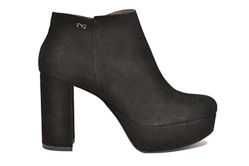 Nero giardini polacchini scarpe donna nero 9762 elegante a719762de 36