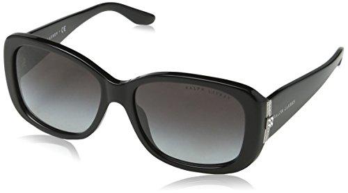 Ralph lauren donna 0rl8127b018g occhiali da sole, nero (black/gradient), 55