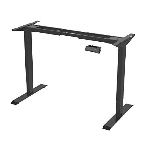 Flexispot ED2B Höhenverstellbarer Schreibtisch Elektrisch höhenverstellbares Tischgestell, passt für alle gängigen Tischplatten. Mit Memory-Steuerung und Integriertes Anti-Kollisionssystem -