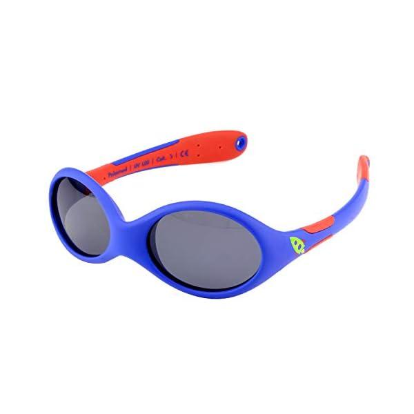 ActiveSol gafas de sol para BEBÉ | NIÑO | 100% protección UV 400 | polarizadas | irrompibles, de goma flexible | 0-24… 1