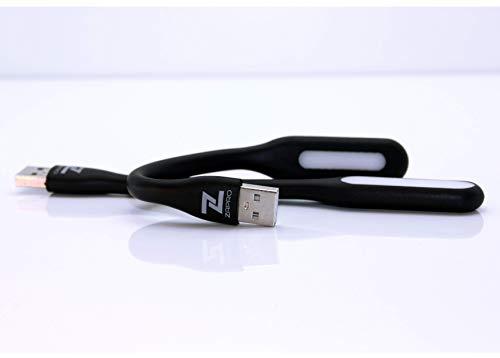 Schwanenhals-scheinwerfer (ZaPro 2 Flexible Mini LED Lampe Licht Leselampen USB Gadget Büro Schwanenhals Nachtlicht für PC Laptop Notebook Powerbank)