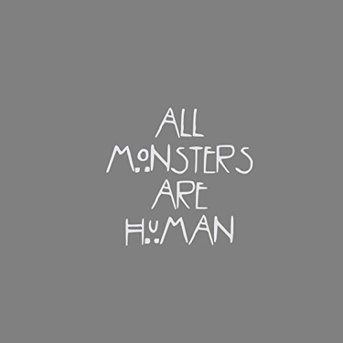 All Monsters are Human - Herren Langarm T-Shirt Blau