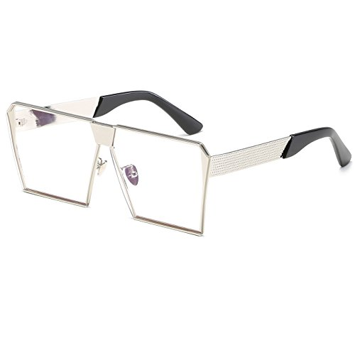 CVOO Sunglasses Men Women Luxury Brand Rimless Fashion Sunglasses Square Mirror Sun Glasses High Quality Shades Glasses UV400