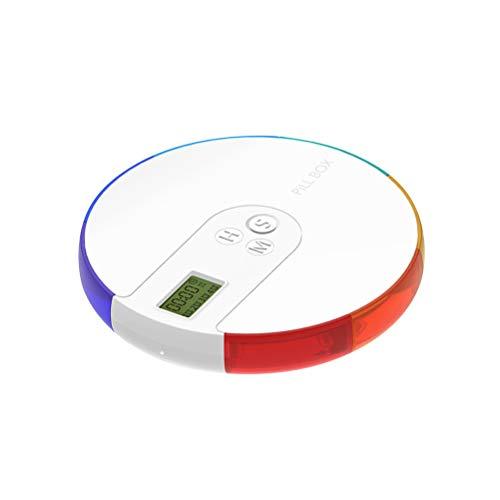 Pastillero Electrónico Automático con Alarma