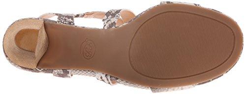 Lucky Brand Pacora Leder Sandale Grey Combo