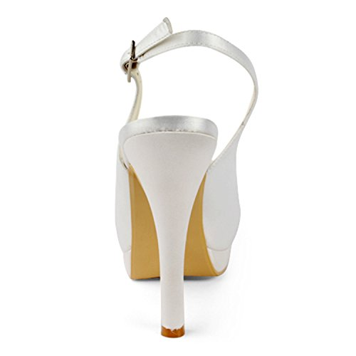 Minitoo , Escarpins pour femme White-13cm Heel
