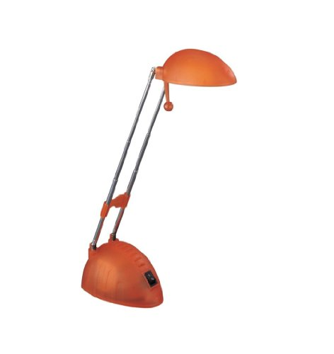 Massive Studio Table Lamp – Table Lamps (Ambience, AC, G4, Orange, Glass, Synthetics, Office, Study)