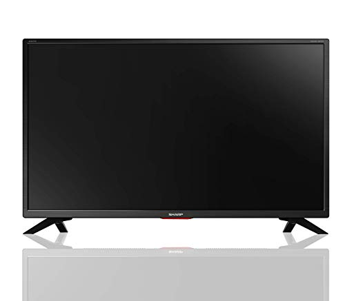 "Sharp Aquos Smart TV 32"" HD, suono Harman Kardon, SAT, WiFI, Youtube, Netflix, 3xHDMI, 2xUSB, Hotel Mode, Uscite Cuffie, Scart e Audio Digitale"