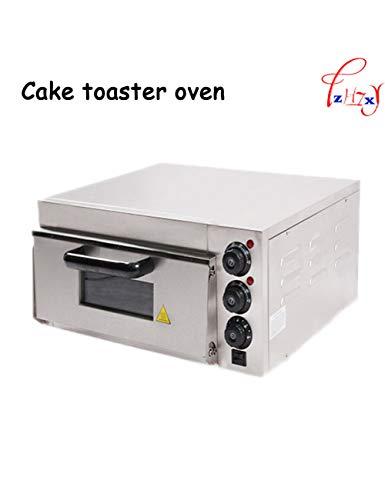WHHHOfen Elektrischer Pizzaofen Hause/Kommerziell Thermometer Einzel Pizzaofen/Mini Backofen/Brot/Kuchen Toaster Ofen -