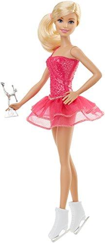 Barbie Mattel FFR35 - Ich wäre gern Eiskunstläuferin Puppe, Ankleidepuppen-Zubehör