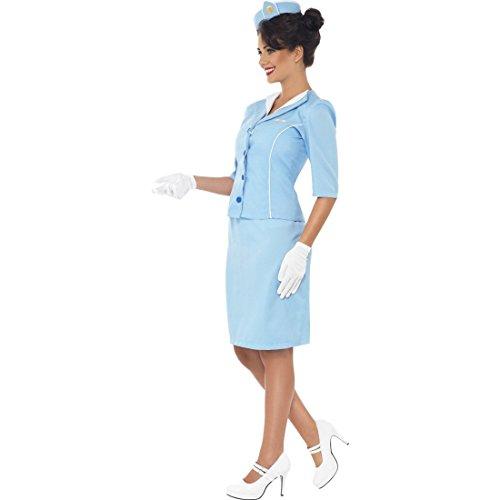 Imagen de disfraz de azafata carnaval mujeres traje auxiliar vuelo alternativa