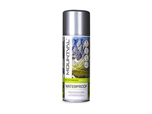 Mountval Spray per impermeabilizzare scarponi goretex senza macchiare (400ml)