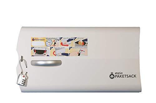 meinPAKETSACK Safety - die sichere Paketstation für Zuhause, Paketbox für alle Paketdienste zur Annahme von Paketen in Miet- und Eigentumswohnungen, universelle Montage & platzsparend - 4