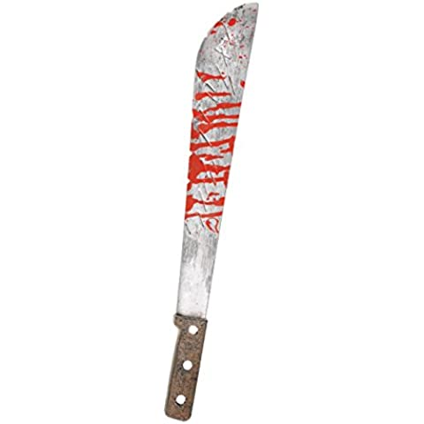 Slasher de Halloween Machete cuchillo sangriento