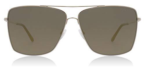 Tom Ford Sonnenbrillen MAGNUS-02 FT 0651 SHINY ROSE GOLD/GREY Unisex