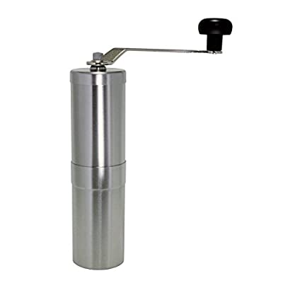 Porlex Stainless Steel Manual Coffee Grinder with Ceramic grinding mechanism