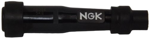NGK SB 05 E, (14er), gerade Zündkerzenstecker wasserdicht, Phenolharz, entstört