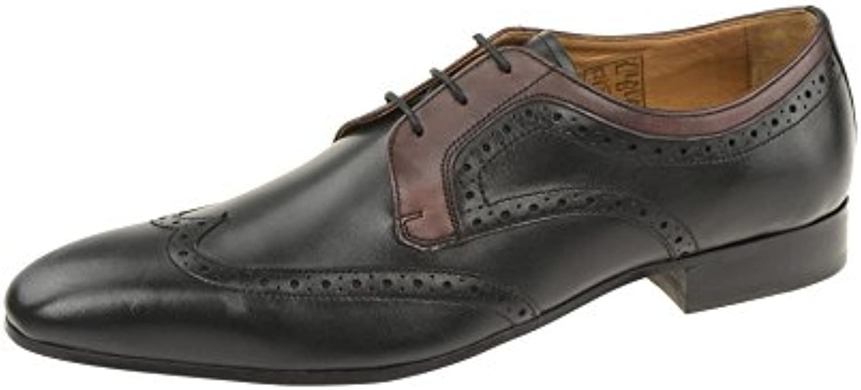 Gordon & Bros623048 Black Bordo - zapatos con cordones Hombre
