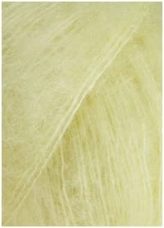 Lang Yarns Mohair Luxe – 175 Couleur : Jaune clair (0113) – 25 g/env ...
