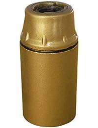 MATILEC - Douille E14 Thermoplastique Lisse Or