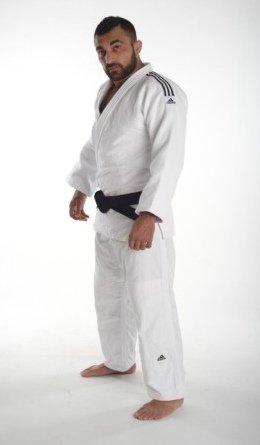 Adidas da judo champion ii judo, colore: bianco, bianco