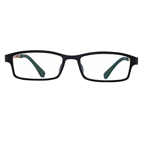 Haodasi Brillen Herren Vintage Mode Rechteck Lesebrille 1.0 1.5 2.0 2.5 3.0 3.5 4.0
