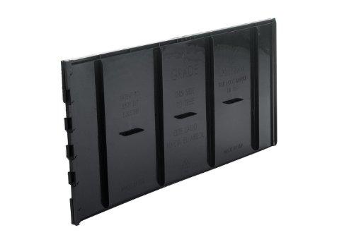 DeepRoot® UB 12-2 Lot de 40 panneaux pour barrière anti-racines 31 x 61 cm