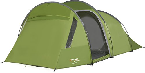 Vango Skye 500 5 Man Tent, Family Tent with Large PVC Windows and Lights Out Bedrooms, Treetops