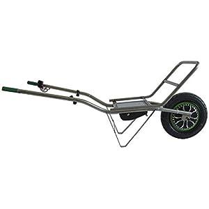 319sbQDjbML. SS300  - Smartwiel Carretilla eléctrica con portador Batería de iones de litio / 500 W / Carga máx: 150Kg Carretilla con rueda para jardinería, para madera y material voluminoso