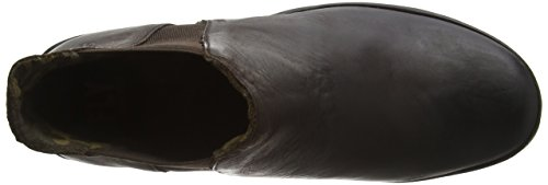 FLY London  Yoss, Bottes Classics courtes, doublure froide femme Marron (Mocca 041)