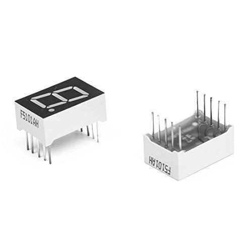 10pcs-common-cathode-10-pin-1-bit-05-red-led-display-digital-tube