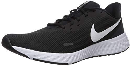 Nike Revolution 5, Zapatillas de Atletismo para Hombre, Multicolor Black/White/Anthracite 002, 43...