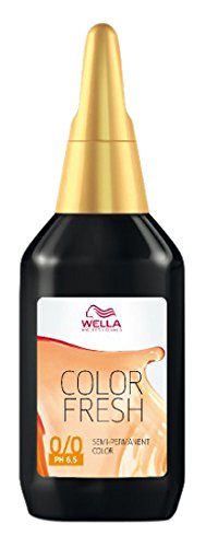 Wella Professionals Color Fresh 7/74 mittelblond braun-rot, 1er Pack (1 x 75 ml) (Wella-gel-haarfarbe)
