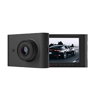 YI Dashcam Nightscape 1080p Auto Kamera Full HD Dash Cam WLAN mit Nachtsicht, 2,4 Zoll LCD Bildschirm 140° Ultra-Weitwinkel, Kompatibel mit iOS Android