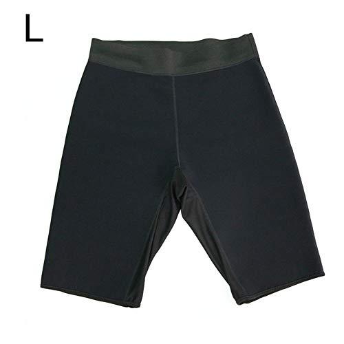Herren Hot Sweat Sauna Pants Bodybuilding Abnehmen Shorts Oberschenkel Gewichtsverlust Fatburner Shaper -