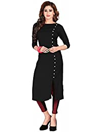 Kurtis For Women (Latest Low Price Designer Party Wear Multi Rayon Kurtis For Women/Girls) - B076GJXK2M