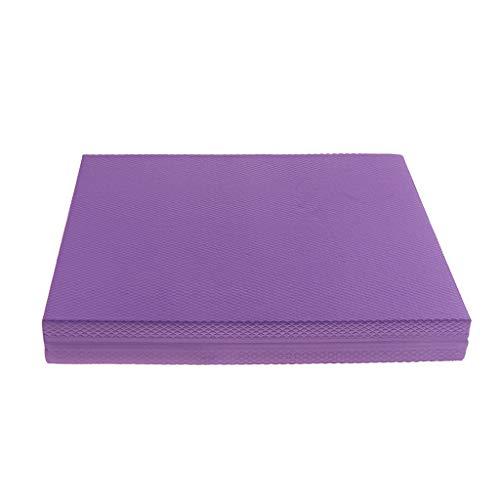 perfeclan Balance Pad Balancekissen Ideal zum Training von Gleichgewicht, Stabilität und Koordinationstraining - Lila