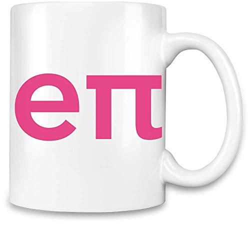 Heimliches Rosa-e PU-Hemd Lustig - Stealthy Pink-e Pi Shirt Funny Unique Coffee Mug | 11Oz Ceramic...