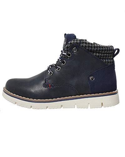 Tommy Hilfiger Kinder Boots Winter Schuhe für Jungen, Farbe:Blau, Größe:EUR 30